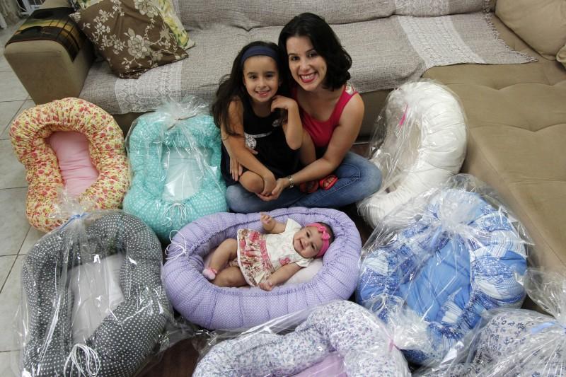 A filha mais velha de Renata Fraga é Valentina, com cinco anos e a mais nova é Maitê, com apenas quatro meses