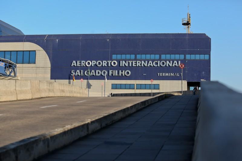 Movimentação de passageiros recuou 1,1% no Salgado Filho