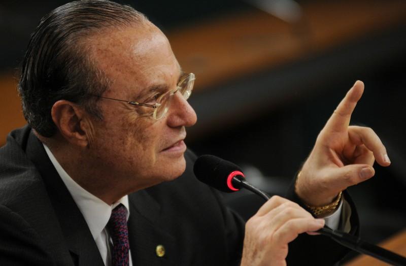 O deputado cumpre prisão domiciliar em São Paulo pela condenação por crime de lavagem de dinheiro