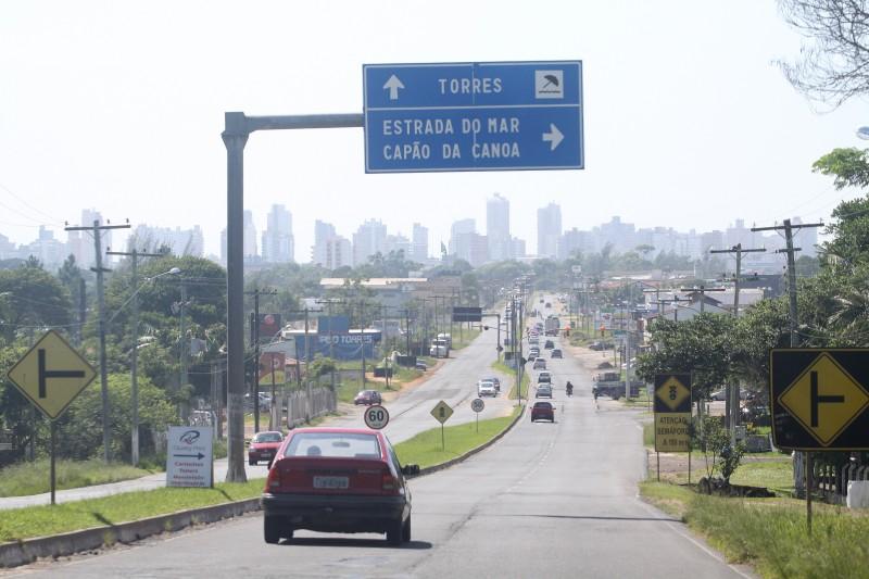 Trecho da BR-101 entre Osório e o rio Mampituba, na divisa com Santa Catarina, é um dos que deverão ser oferecidos à iniciativa privada
