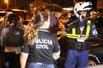 Ação da polícia ocorreu em uma região identificada pela aglomeração de jovens e pelas corridas de carro