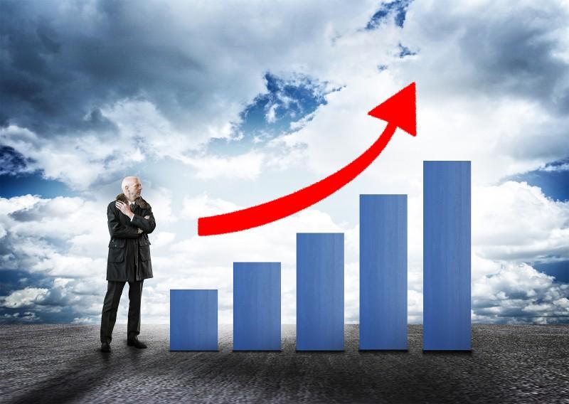 Estimativa de expansão da economia para o ano que vem é de 2,2%