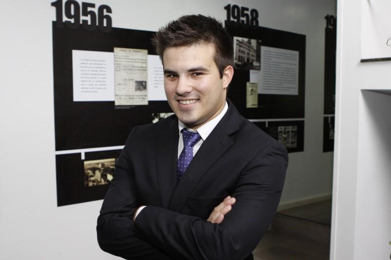 Luiz Gustavo Garrido era o vice-presidente da antiga gestão