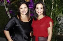 Libriane Russowski e Betina Starosta recepcionaram os convidados