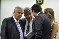 Araújo (e) atendeu exigência do depoente de não permitir imagens