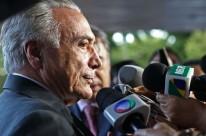 Michel Temer disse que permitirá manifestações em mandato interino