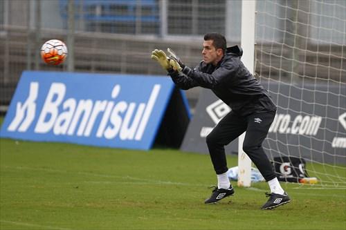 Grohe em preparação para encarar os argentinos