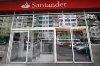 BANCO SANTANDER DA AVENIDA BORGES DE MEDEIROS FECHADA NA MANHÃ DE HOJE