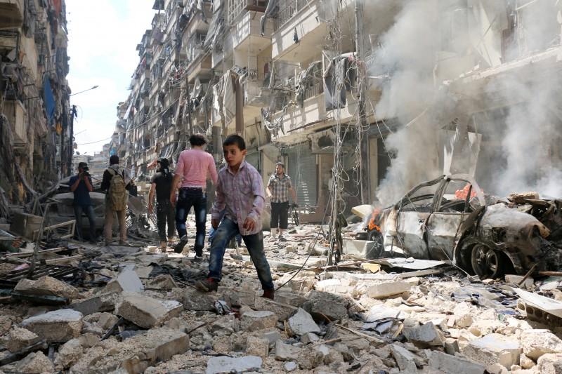 O bombardeio ocorreu em um hospital de Alepo, no Noroeste da Síria