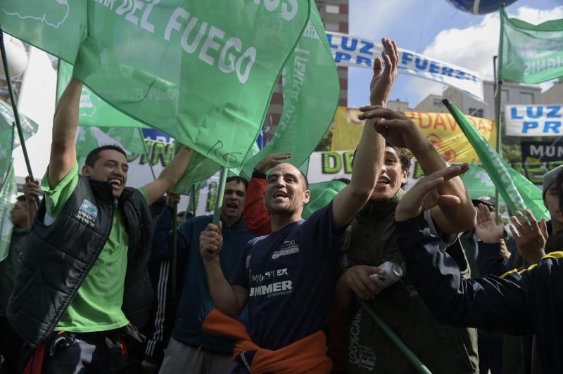 A manifestação paralisou o centro da cidade