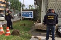 Polícia Federal faz perícia em sede do DEM em Porto Alegre