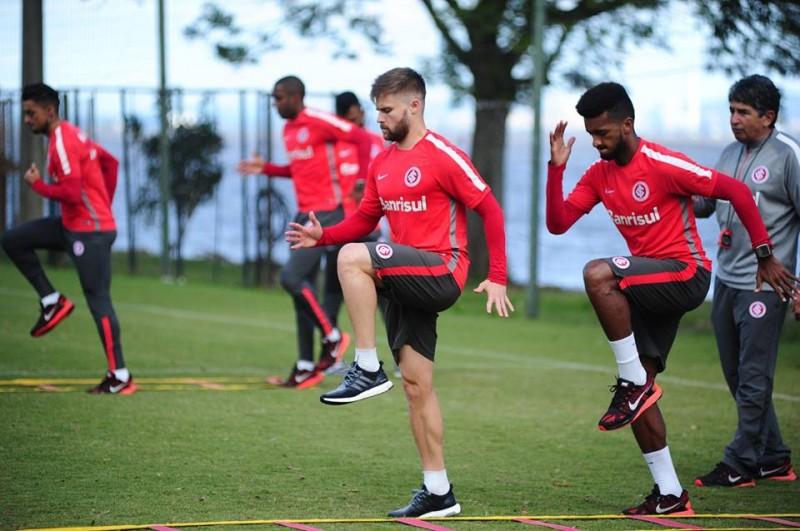 Inter retoma treinos focado na final do Gauchão