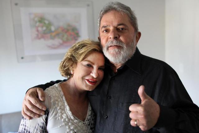 Marisa Leticia com Lula