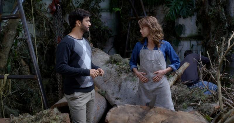 Armando Babaioff e Mariana Ximenes protagonizam o longa-metragem Prova de coragem