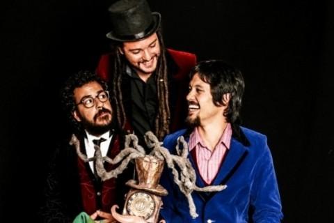 Trem Imperial lança o disco Louca viagem em show amanhã, no Theatro São Pedro