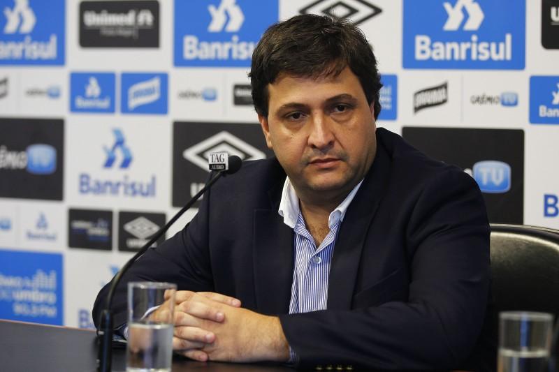 Alberto Guerra é apresentado como novo vice presidente de futebol do Grêmio