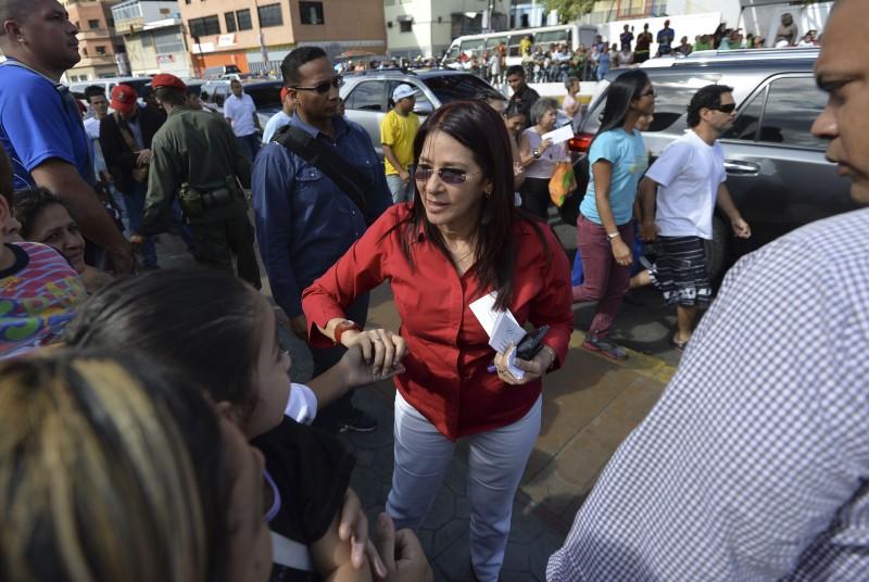 Cilia Flores, esposa de Maduro, pode virar vice, caso votação ocorra