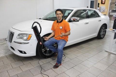 Luciano dos Anjos, do Instituto Doctor Car, aprendeu a técnica em Panambi