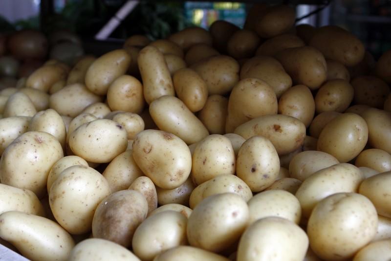 Vilã do mês passado foi a batata, que ficou 12,50% mais cara