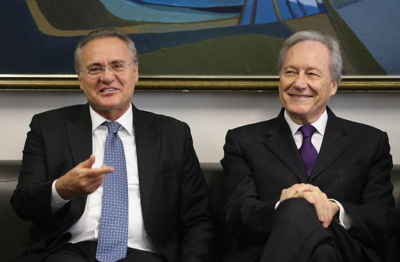 Renan Calheiros passou o comando do processo de impeachment ao presidente do STF, Ricardo Lewandowski