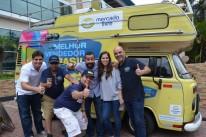 Kombi patrocinada pelo Mercado Livre que auxilia empreendedores estacionará no BarraShoppingSul amanhã