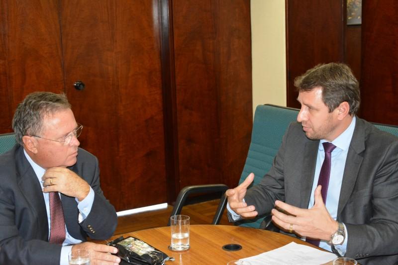 Ministro da Agricultura recebeu de Ernani Polo a pauta do setor produtivo gaúcho