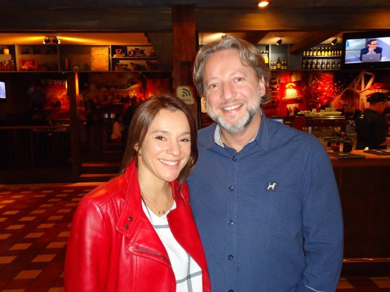 Marcia Stanton e Silvio Teitelbaum no Dado Bier do Bourbon Country