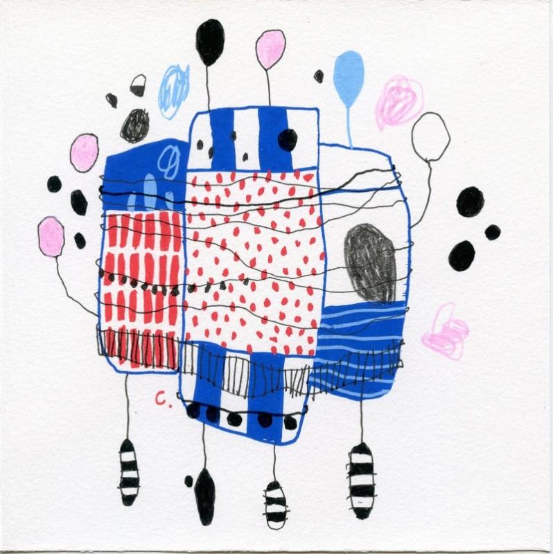 Manu Raupp lança livro de desenhos e inaugura exposição
