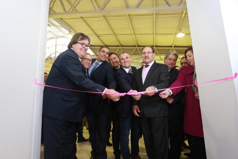 Sartori participou hoje da abertura oficial do 25º Salão Internacional do Couro e do Calçado