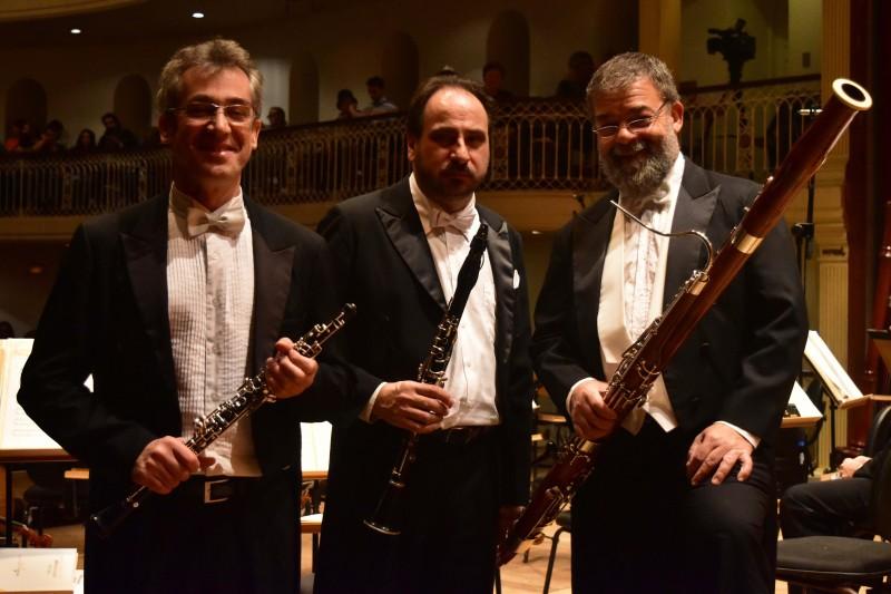 Trio de Palhetas da Ospa se apresenta em recital no Margs