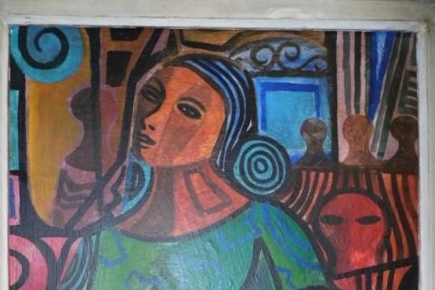 Obra de Di Cavalcanti em mostra na Galeria Duque