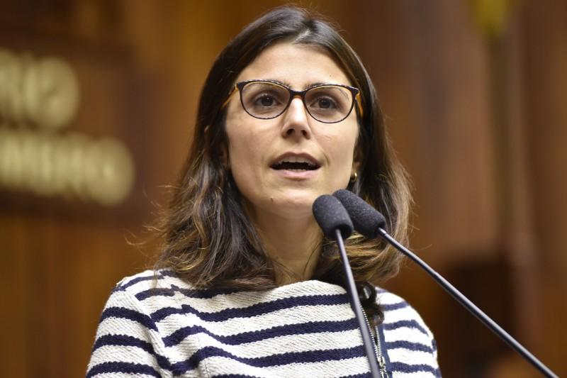 Autora do projeto, Manuela d'Ávila criticou esteriótipos de gênero
