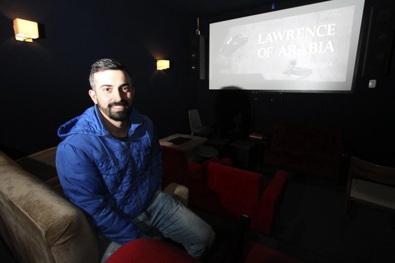 Alan Togni Erthal não imaginava que sala de cinema daria tanto retorno