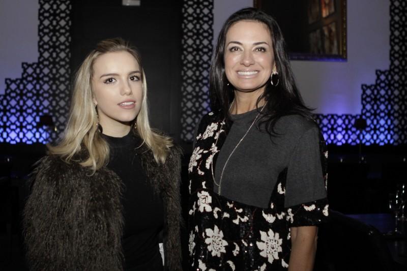 Martina Ritter e Leila Loiferman participaram do jantar da Casar no 300 Cosmo Dining