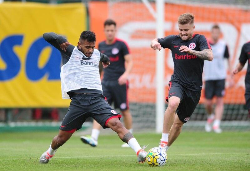 Inter se prepara para enfrentar o Santos