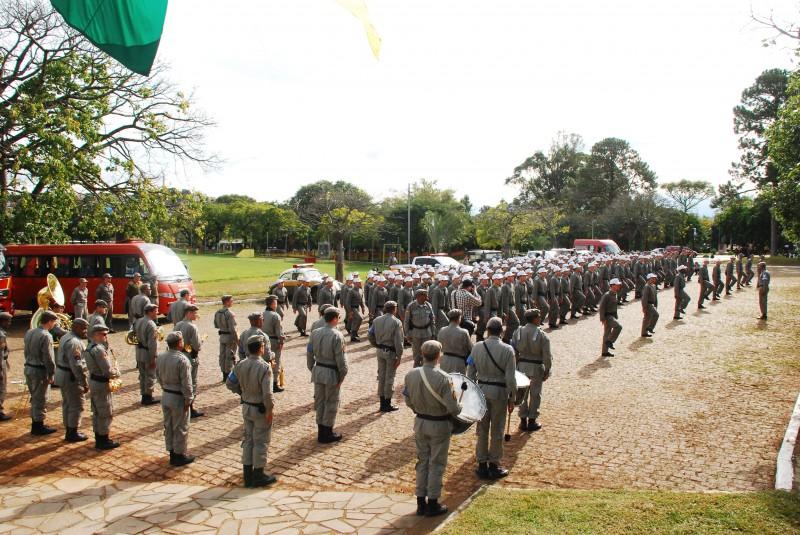 O curso vai habilitar 222 novos PMs, sendo 172 no policiamento ostensivo e 50 no Corpo de Bombeiros