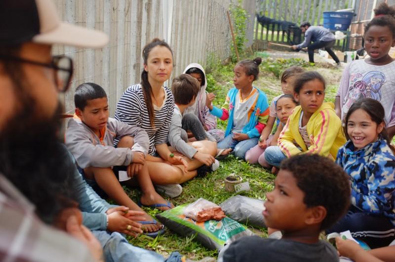 Projeto da Raiz Urbana quer ensinar procedência do que se consome para minimizar excedentes
