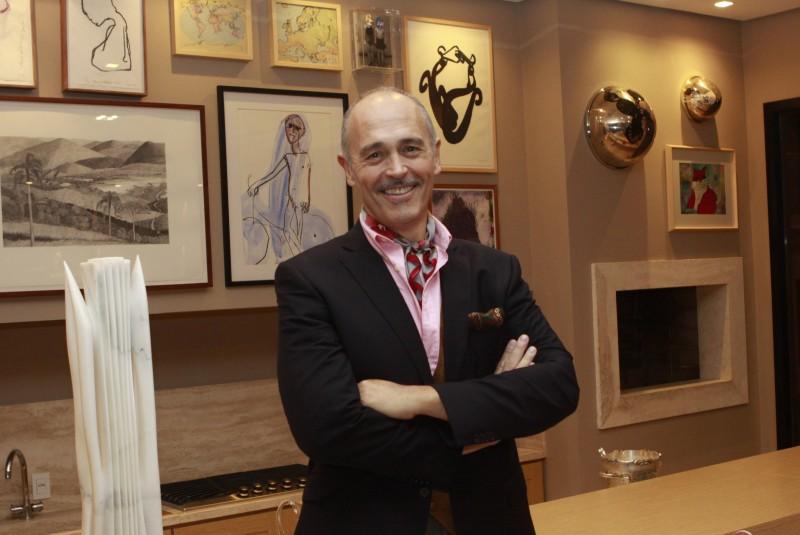 Renato Bing recebeu elogios pela decoração da casa de Ana Paula Vasconcellos Ribeiro