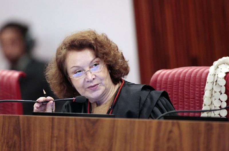 Ministra Nancy Andrighi em sessão  o do TSE. Brasilia-DF 23/04/2013. Foto: Carlos Humberto./ASICS/TSE - 92585 bytes