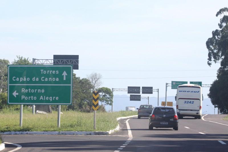 No Rio Grande do Sul, foram registrados 6.383 acidentes nas vias administradas pela União