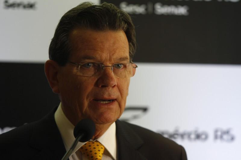 Luiz Carlos Bohn, presidente da Fecomércio-RS quer pressa na reforma tributária