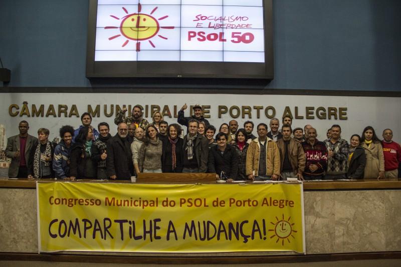 Congresso também elegeu Roberto Robaina como presidente do partido na Capital
