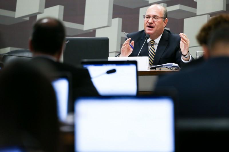 Economista Ilan Goldfajn foi sabatinado pela Comissão de Assuntos Econômicos do Senado