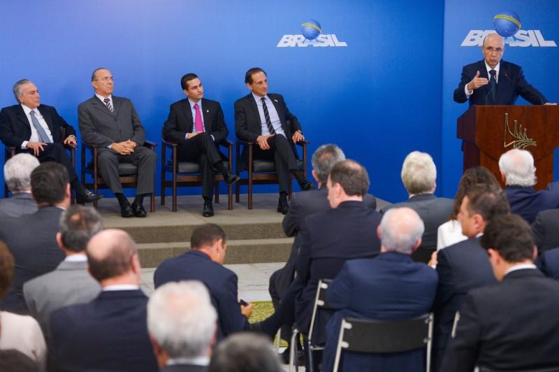 Henrique Meirelles falou para empresários durante encontro no Palácio do Planalto