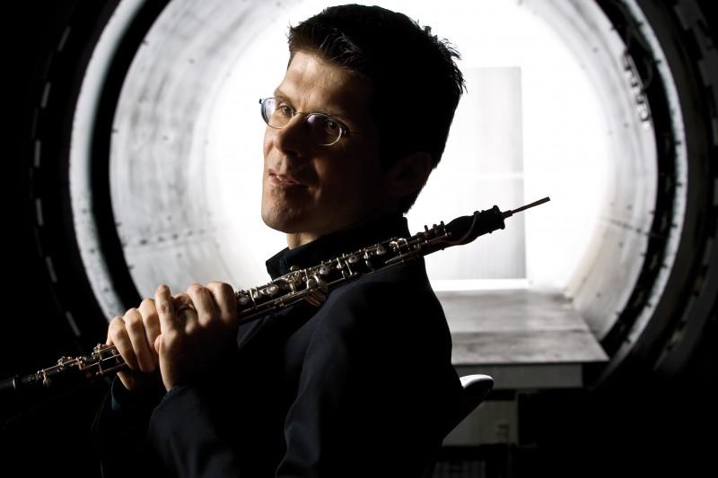 Christoph Hartmann, oboísta da Filarmônica de Berlim, faz solo no concerto da Ospa