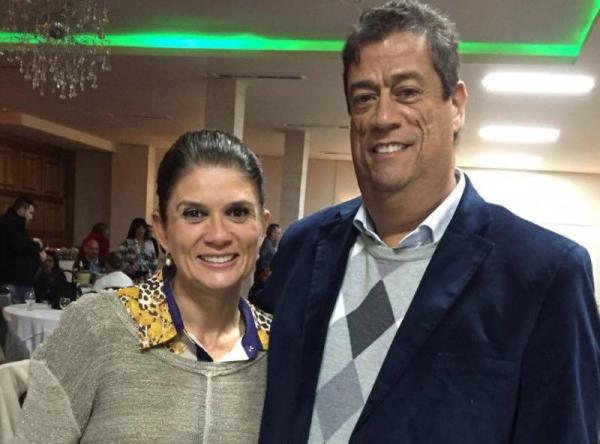 Marjorie e Raul Mendes da Rocha