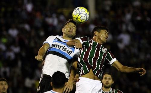 Gremistas ficaram no empate em 1 a 1, em Volta Redonda