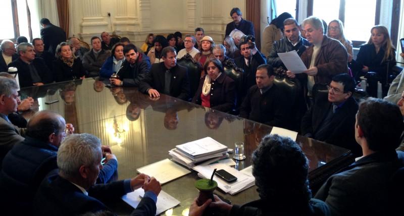 Comitiva de Alegrete foi ao Palácio Piratini em busca de soluções para saúde
