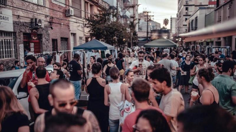 Evento de rua acontece das 11h às 19h