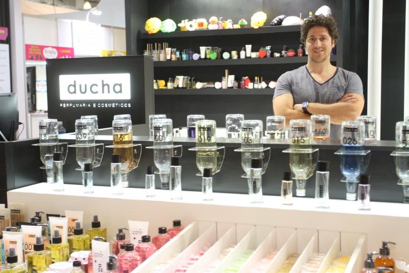 Ivo Gomes, da Ducha Cosméticos: perfume a granel é aposta da marca